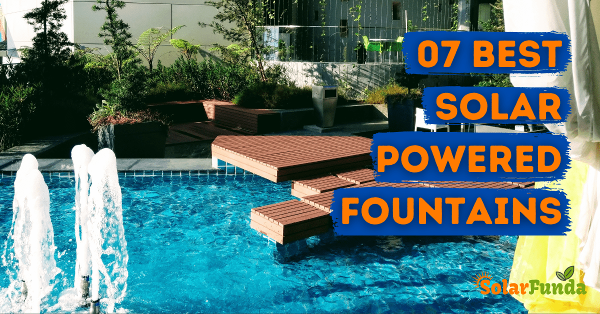 7 Best Solar Powered Fountain Pumps for 2021 (Review)