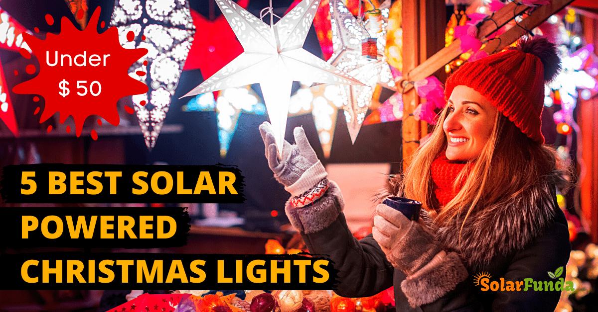 Best Solar Powered Christmas Lights