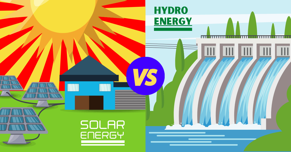 Solar Energy vs Hydro Energy: What's the Difference?