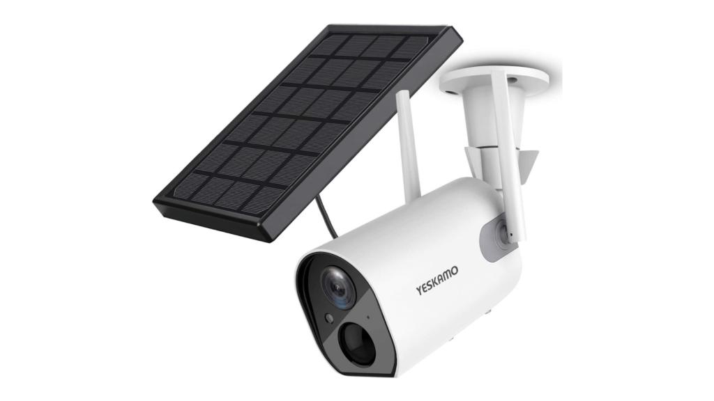 YESKAMO Solar Security Camera Wireless